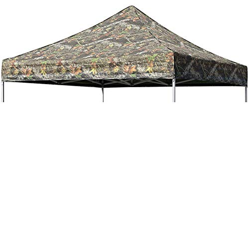 Eurmax New Pop up 10x10 Canopy Replacement Instant Ez Canopy Top Cover (Camouflage) ()