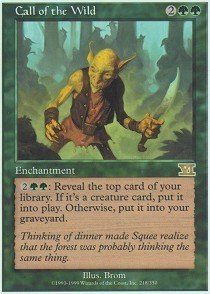 Magic: the Gathering - Call of The Wild - Sixth Edition