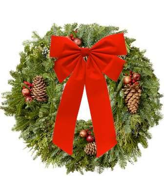 Amazon.com : Christmas Wreath - Online Christmas Flowers & Gifts ...