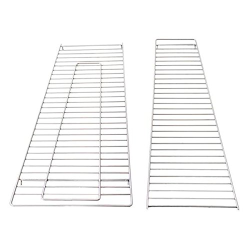 FIREPLACE CLASSIC PARTS Patio Heater Glass Tube Protective Grates for Square Heater WL Model FCPSGT-Grate-WL