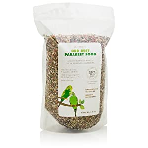 Dr. Harvey's Our Best Parakeet Food, All Natural Daily Blend for Budgies (4 Pounds) 59