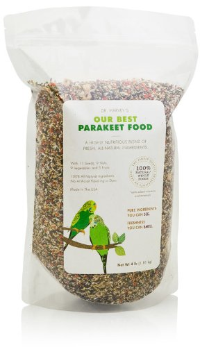 Dr. Harvey's Our Best Parakeet Food, All...