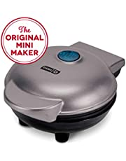 Dash Mini Maker: The Mini Waffle Maker Machine for Individual Waffles, Paninis, Hash Browns, Other on The go Breakfast, Lunch, or Snacks