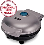 Dash Mini Maker: The Mini Waffle Maker Machine for Individual Waffles, Paninis, Hash browns, & other on the go Breakfast, Lu