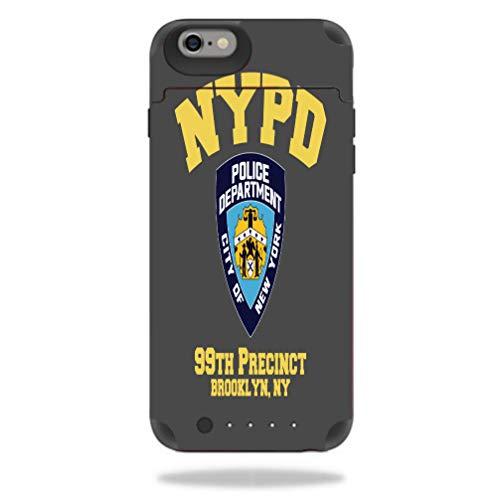 (Police Department Logo Precinct 99 Juice Pack Reserve iPhone 6 6S Vinyl Decal Sticker Skin)