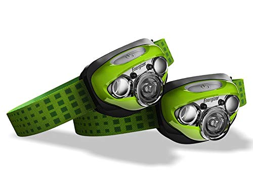Energizer Vision LED Headlamp Flashlight, Green (Set of 2) by Energizer