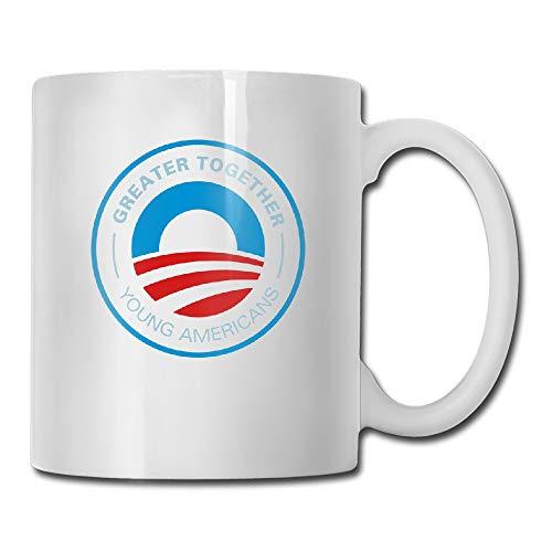 Custom Greater Together Obama 2012 Coffee Mug