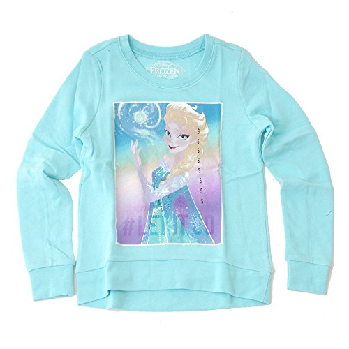 Disney Frozen Elsa Let It Go Girls Long Sleeve Tee