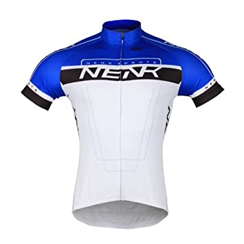 Sobike NENK COOREE Cycling Long Jersey Long Sleeves Blue White