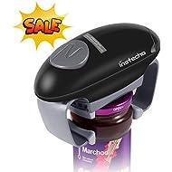 Electric Jar Opener, Restaurant Automatic Jar Opener for Seniors with Arthritis, Weak Hands, Bottle Opener for Arthritic Hands (red)