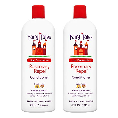 (Fairy Tales Rosemary Repel Daily Kid Conditioner for Lice Prevention - 32 oz - 2)