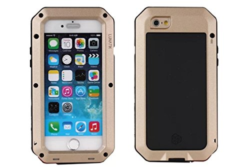 R-JUST iPhone 6S/iPhone 6 Water Resistant Metallic Case, CHEETOP Heavy Duty...