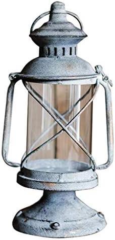 ZWJ-キャンドルスタンド 燭台レトロなキャンドルホルダーガーデン食料品の小道具鍛鉄燭台装飾 (Size : B)
