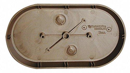 9'' x 5/8'' x 5'' Surface Mount Wiring Box, Bronze