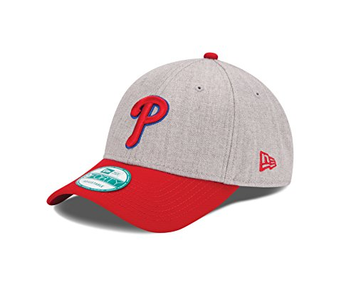 MLB Philadelphia Phillies The League Heather 9Forty Adjustable Cap, One Size, ()