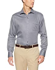 Van Heusen Classic Relaxed Fit Business Shirt Check