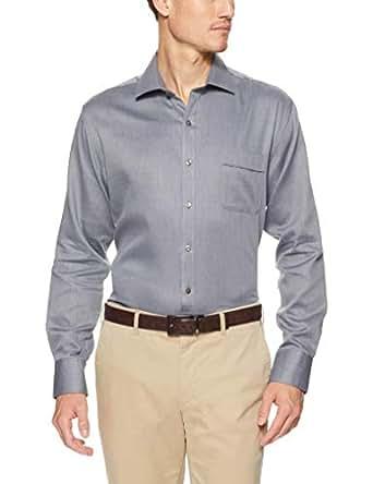 Van Heusen Classic Relaxed Fit Business Shirt, Charcoal, 37 82
