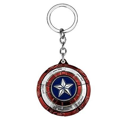 TUDUDU Los Vengadores Marvel Capitán América Llavero ...