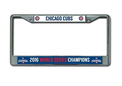 - Rico MLB Chicago Cubs World Series Chrome Frame, 12
