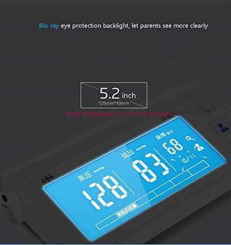 Inalámbrico De Presión Arterial Monitor Automático Brazo Bluetooth Compatible Puño Portátil Digital Tensiómetro Medición Medidor De Instrumento De Carga: ...