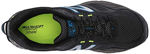 New Balance Men's 510v4 Cushioning Trail Running Shoe, Magnet/Black/Reflective, 7.5 D US by New Balance (Image #8)