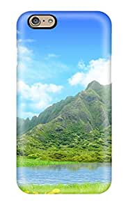 Elliot D. Stewart's Shop Hot Green Mountains Fashion Tpu 6 Case Cover For Iphone