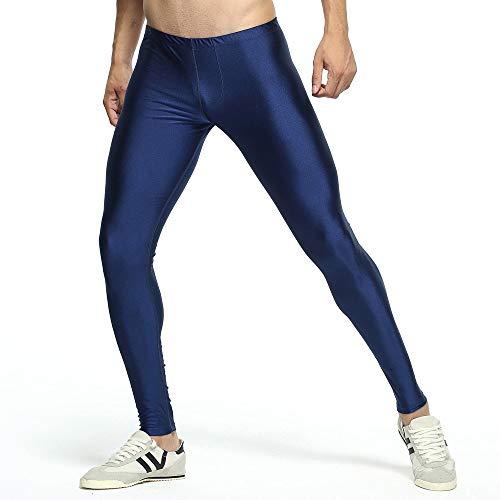 beautyjourney Leggings Pitillo de Color sólido para Hombre Pantalones de Yoga Pantalones Deportivos para Deporte Ropa Interior Delgada Transpirable: ...
