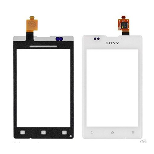White Digitizer Touch Screen Panel Replacement for Sony Xperia E C1505 C1504 C1503 C1502, Dual C1605 C1604