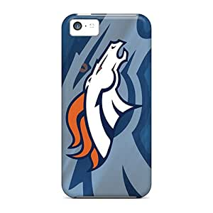 RobertWood Premium Protective Hard Cases For Iphone 5c- Nice Design - Denver Broncos Hd