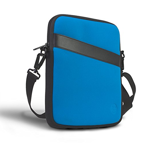 Eastsport Neoprene Crossbody Tablet Bag, Carrying Bag Sleeve with Shoulder Strap for Apple iPad and Tablets, Ocean (Best Eastsport Messenger Bags)