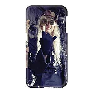 AaronBlanchette Samsung Galaxy S6 Shock Absorbent Hard Phone Covers Custom Beautiful Nevermore Band Pictures [JkQ6001CKSb]