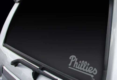 Philadelphia Phillies MLB Team Logo Car Truck SUV Home Office School Window Die Cut Graphic Decal Sticker (Philly Window Decals compare prices)