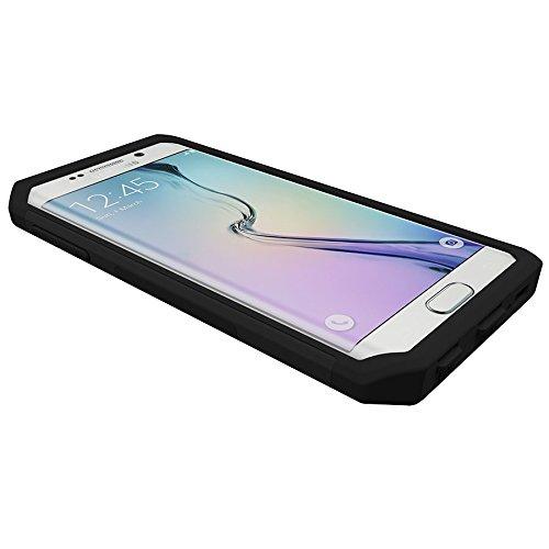 Trident Aegis Schutzhülle für Samsung Galaxy S6Edge–Schwarz