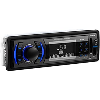 BOSS Audio 612UA Single Din, MP3/USB/SD AM/FM Car Stereo (No CD/DVD Player)