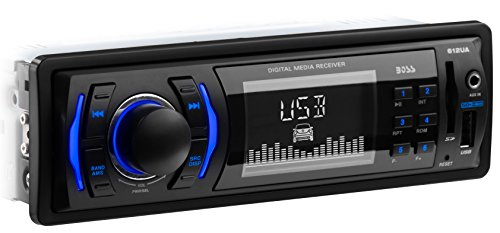 Car Stereo | BOSS Audio 612UA Single Din, MP3/USB/SD AM/FM (NO CD/DVD Player)