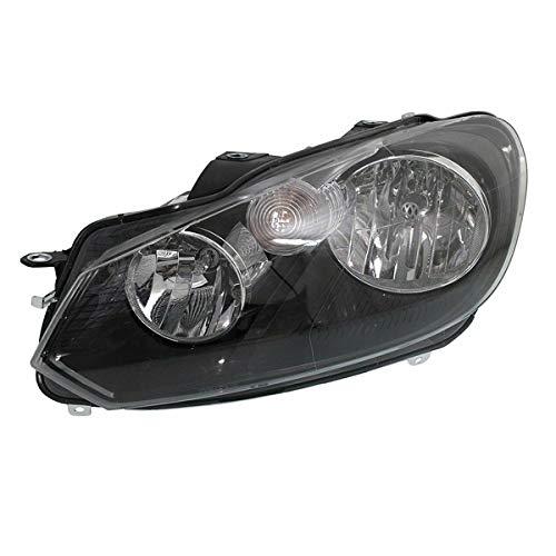 Koolzap For 10-14 VW Jetta Wagon Front Headlight Headlamp Head Light Lamp w/Bulb Driver Side