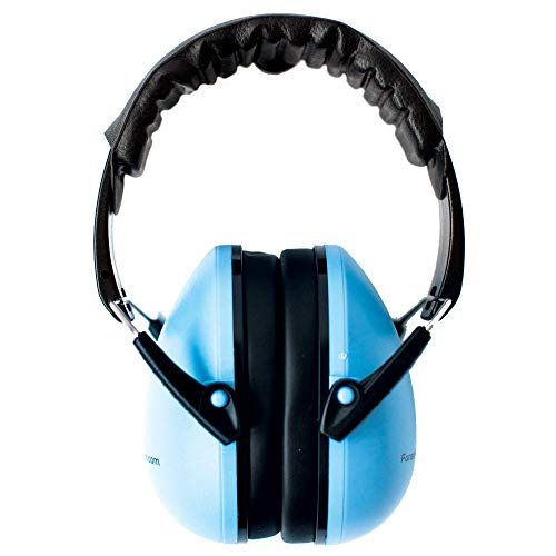 Noise Reduction Headphones for Kids with Autism, Auditory Processing Disorder or Sound Sensitivity – Blue – Ages 5+