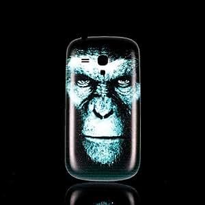 ZXC Orangutan Pattern Hard Case for Samsung Galaxy S3 Mini I8190