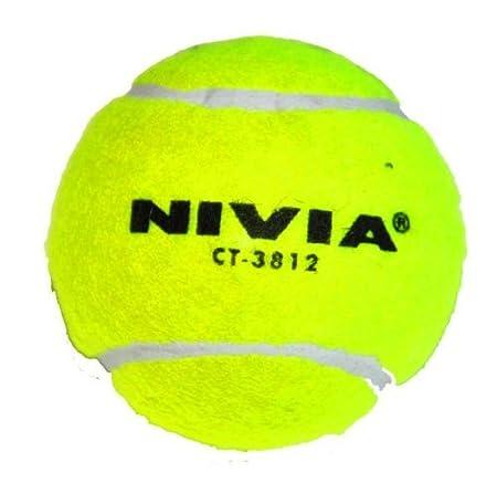 Nivia Heavy Balle de Tennis Balle de Cricket (Lot de 12)