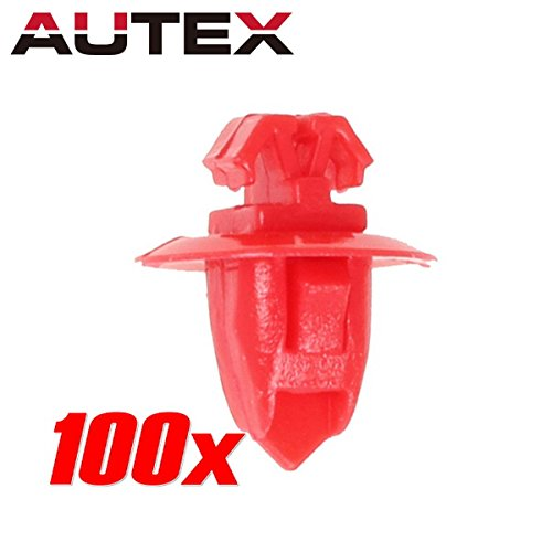 partssquare-100pcs-fender-liner-fastener-rivet-push-clips-retainer-fastener-for-toyota-4runner-sequo