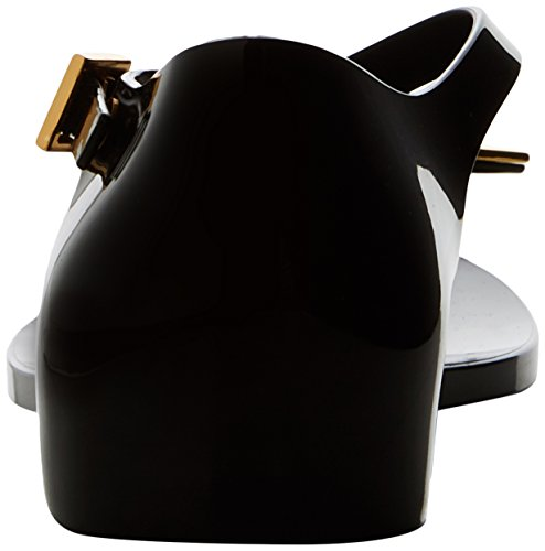 Vivienne Westwood & Melissa Women's Vw Honey T-Bar Sandals Black (Black Orb) M2eVs