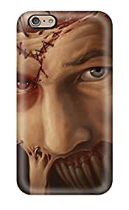 First-class Case Cover For Iphone 6 Dual Protection Cover Patchedup Frankenstein Dark Creature Abstract Dark