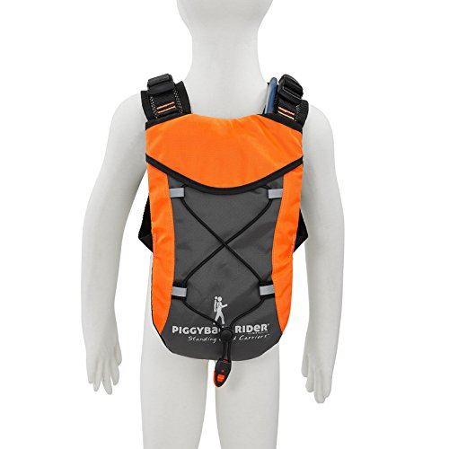 (Piggyback Rider Child Safety Harness Backpack - Orange)