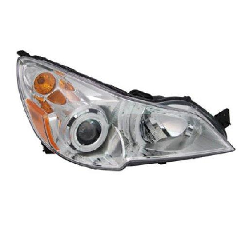 Subaru Legacy Headlight Replacement (OE Replacement Subaru Legacy Passenger Side Headlight Assembly Composite (Partslink Number SU2503136))