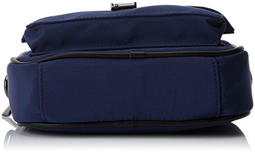 Cm nylon w Azul Bolso H Mtng L Bandolera Sergio Para X 6 Mujer Azul 50x17x20 OwF04qxw