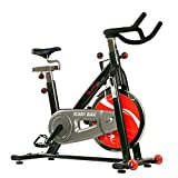 Sunny Health & Fitness SF-B1002C Chain Drive Indoor Cycling Bike, Grey
