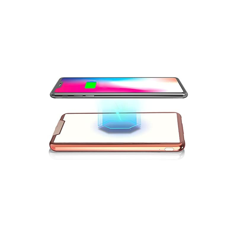 HTGK 10000mAh Wireless Charger with 2 US