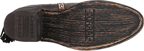 Corral Boots Womens E1222 Svart 11b Oss
