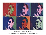 (26x34) Andy Warhol A Set of Six Self-Portraits 1967 Art Print Poster