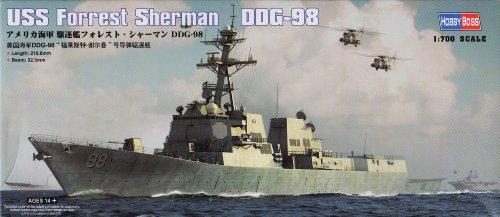 Hobby Boss USS Forrest Sherman DDG-98 Model Kit